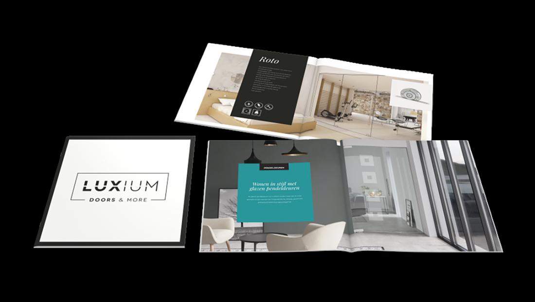 Alles Glas Luxium brochure