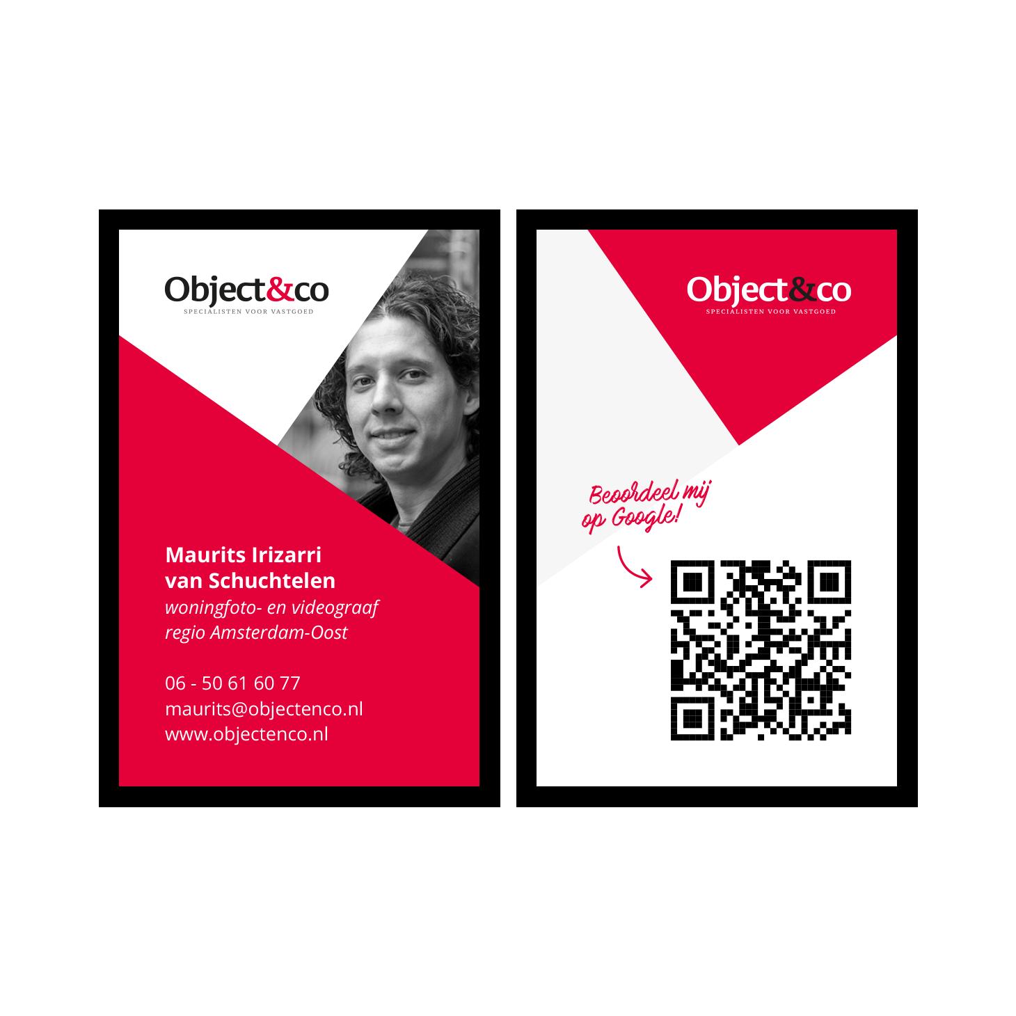 Object&co visitekaartjes